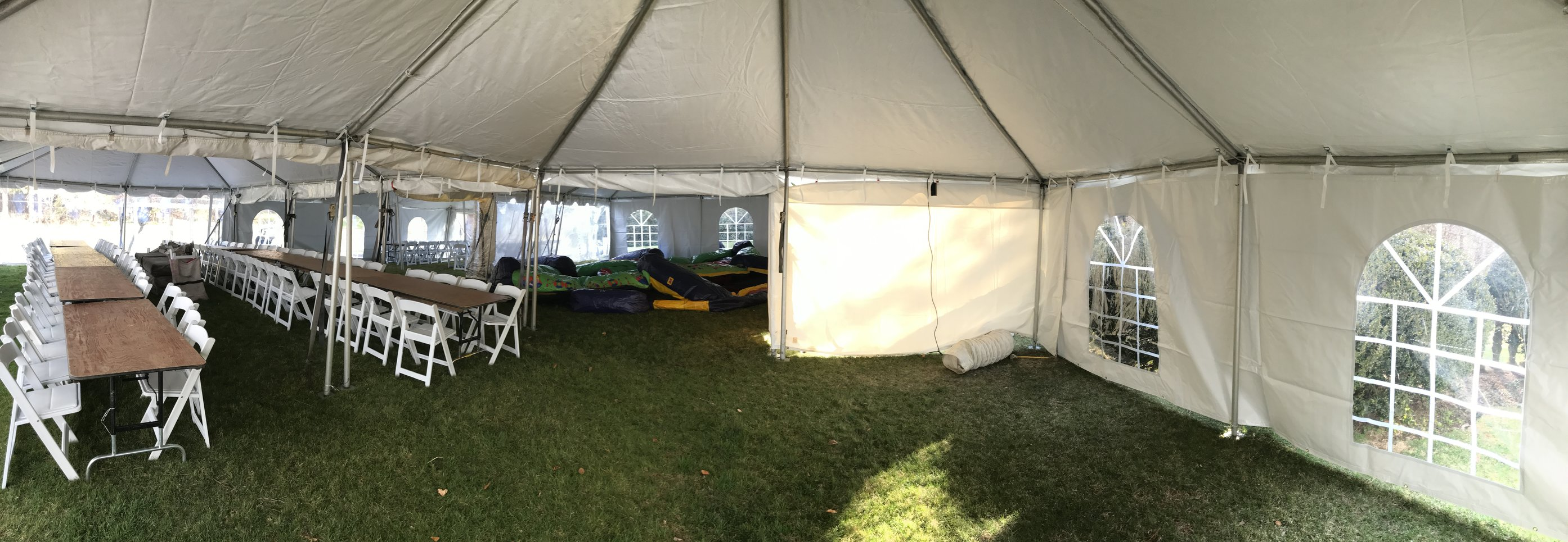 Large Heated Party Tent Rentals   New England Bounce About