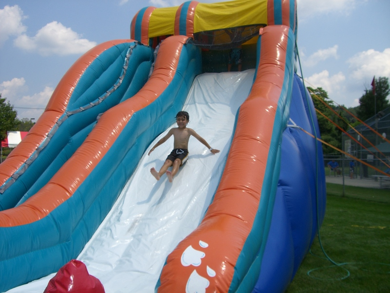 Big Kahuna Inflatable water slide rental - Fairfield