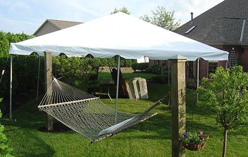 20x20 Frame Tent - $400