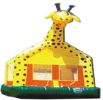 Giraffe Bounce House - $199