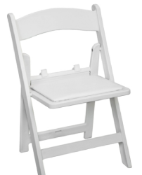 Kid Chairs (White Resin) - 1.99