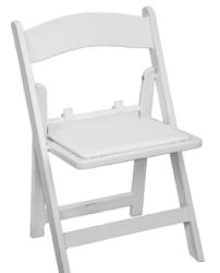 Kid Chairs (White Resin) - 1.99