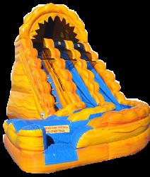 Raging Rapid Curve Slide pool  - $575