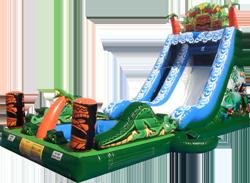 Tiki Falls Slide with Pool - $450
