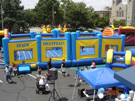 Inflatable Volleyball and Basketball - $699