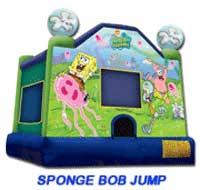Sponge Bob Bounce House - $210